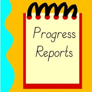 Writing a work progress report